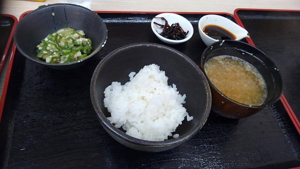 四季蕎麦 とろろご飯