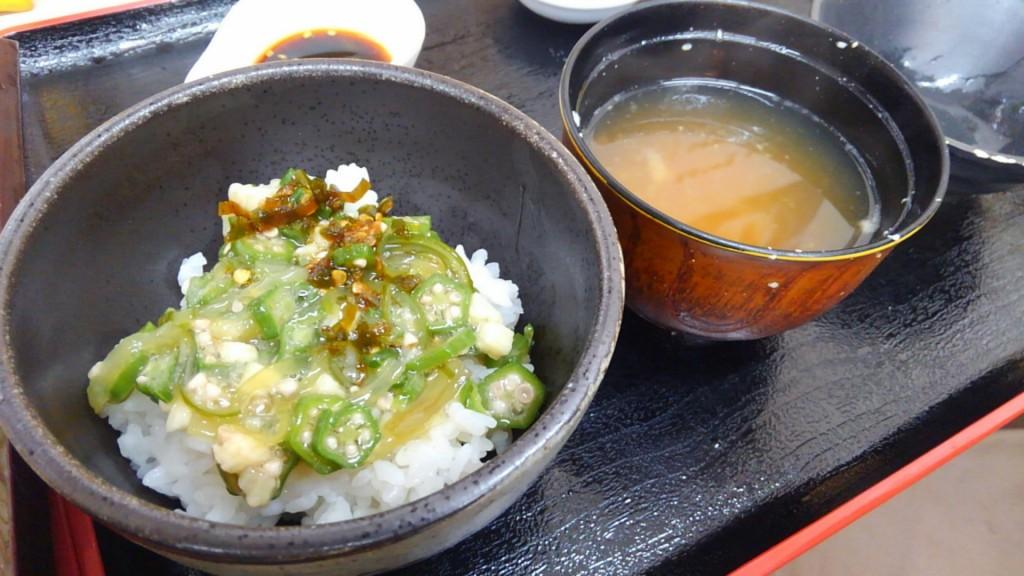 四季蕎麦 とろろご飯アップ