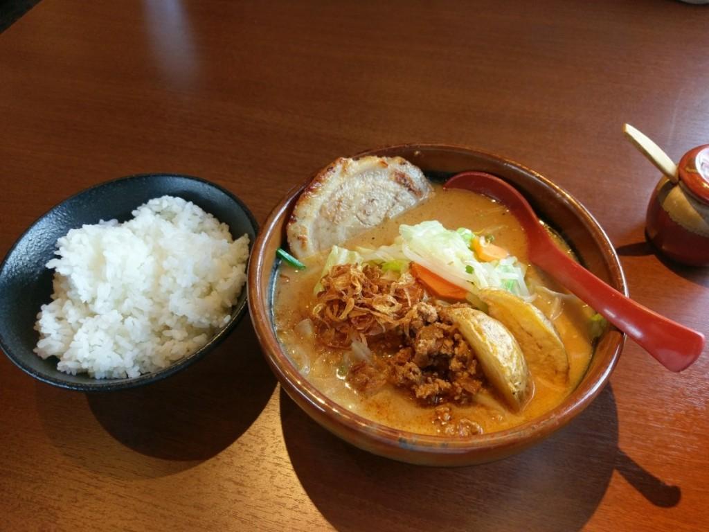北海道味噌野菜らーめん