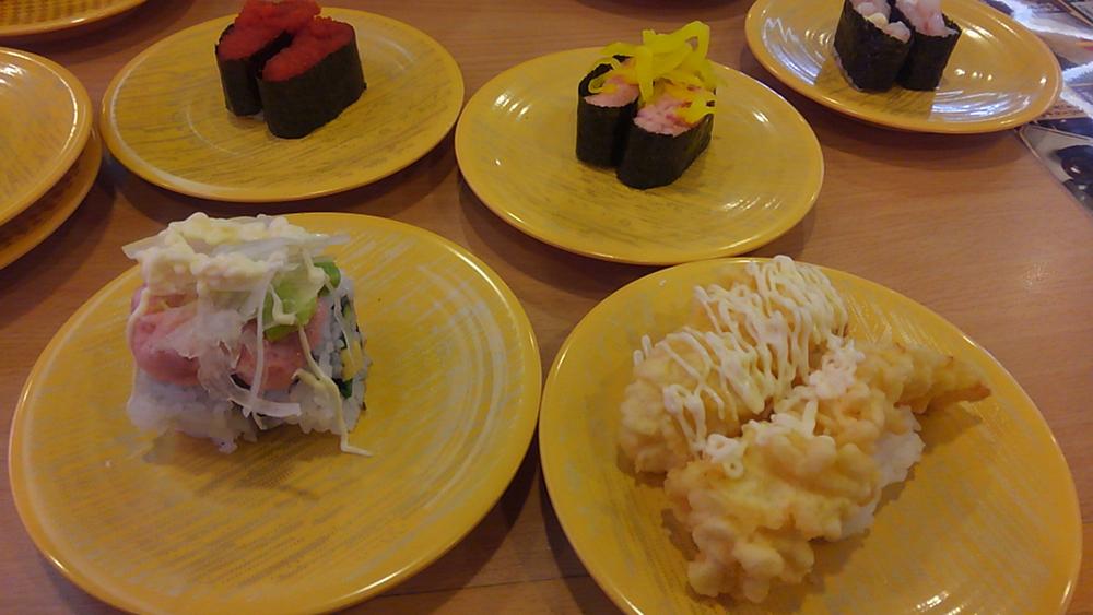 かっぱ寿司 お寿司たくさん