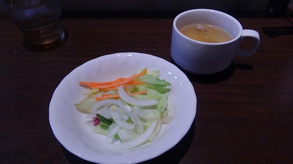 いきなりステーキ ランチサラダ&スープ