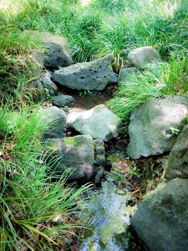 白滝公園 溶岩