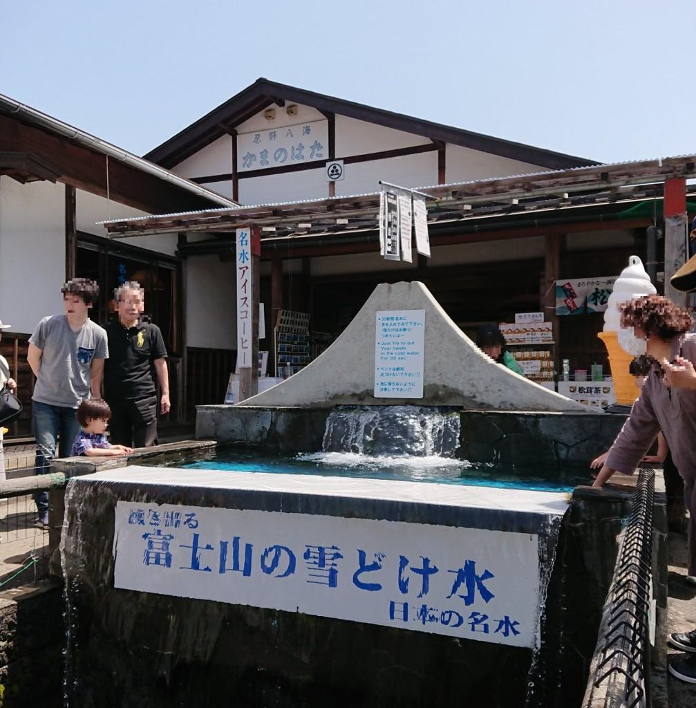 忍野八海 富士山の雪どけ水