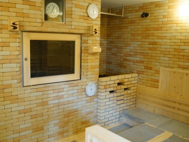 湯舞音 大浴場 サウナ室