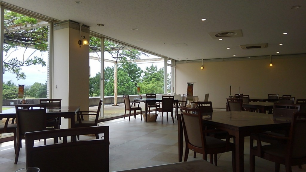取手桜が丘ゴルフクラブレストラン 客席